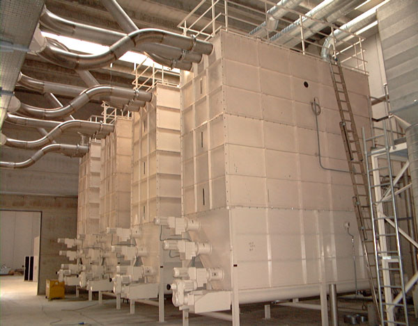 Recycling Solutions - Fluff Silo Marchante