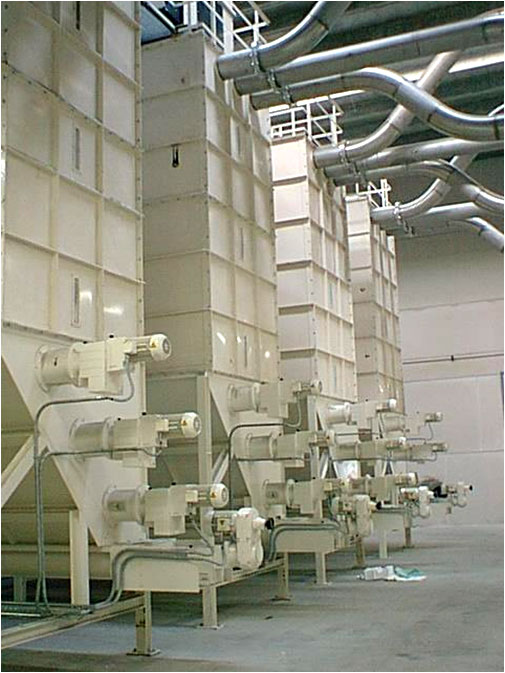Fluff Silos Recycling System