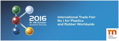 NOT-TO-BE-MISSED EVENT – K-2016 TRADE FAIR IN DUSSELDORF, 19-26 OCTOBER