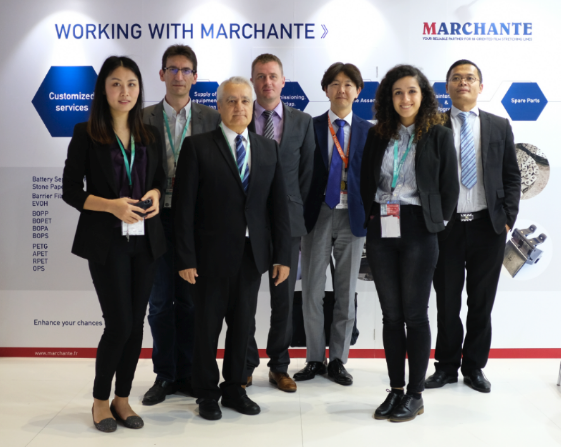 Marchante's Team for MASIM in Chinaplas 2018