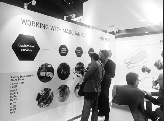 Marchante's Booth at Chinaplas 2018