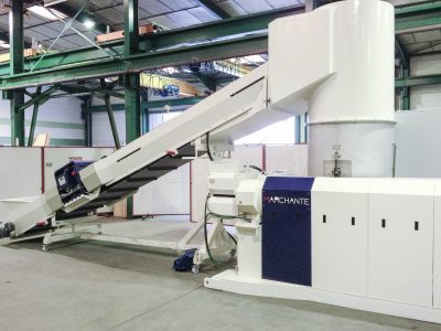 Recycling Solution - Pelletizing Machine Marchante